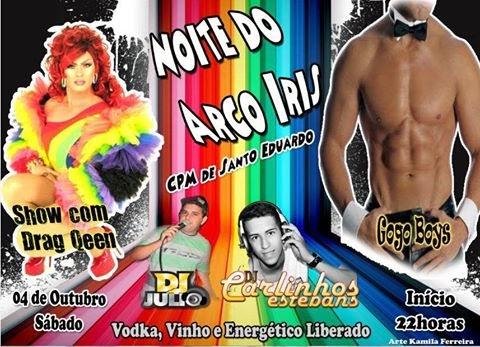 Festa LGBT no CPM de Santo Eduardo