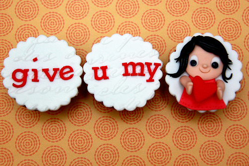 My Moon: Valentine s Day Cupcake Decorating Ideas