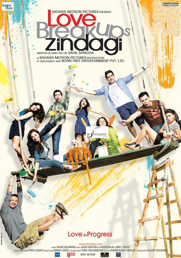 Love Breakups Zindagi (2011) Hindi Movie Mp3 Song Download