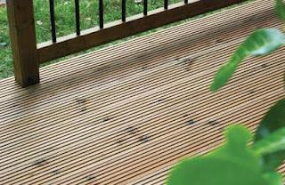 MicroShades oak Effect Deckboard