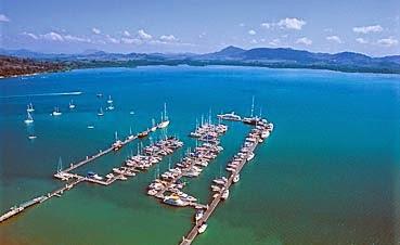 Yacht Haven Marina Aerial