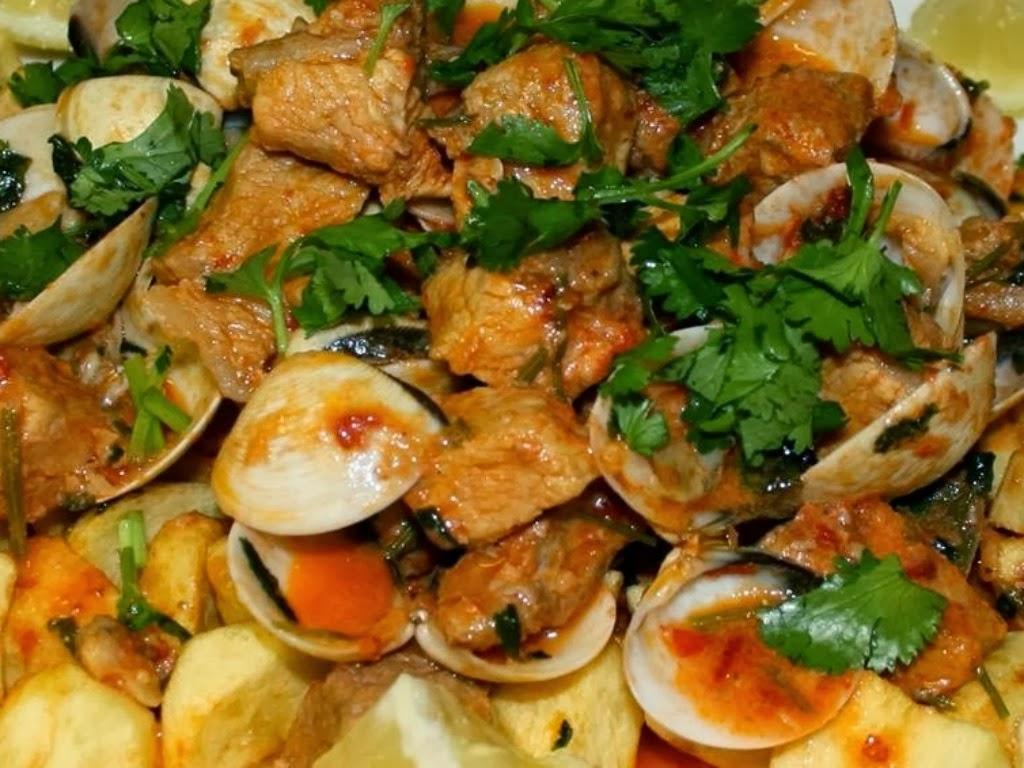 Wonders of Portugal: Carne de Porco à Alentejana