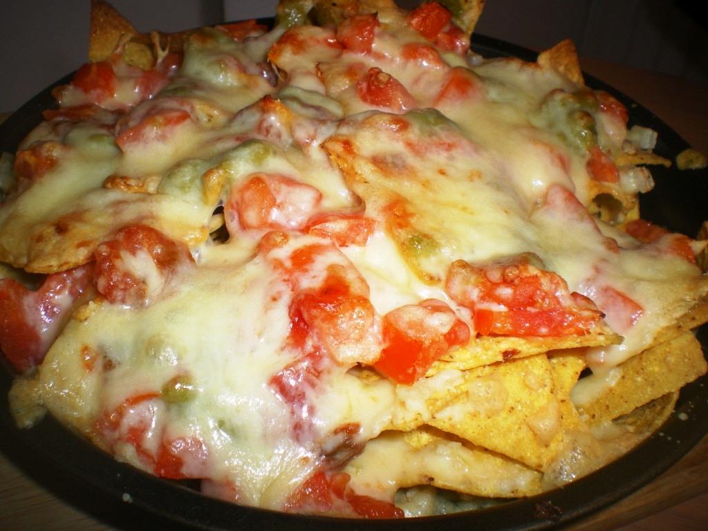 Como hacer nachos al horno con queso