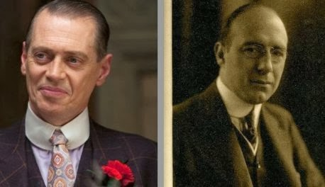 Boardwalk Empire - Nucky Thompson VS Nucky Johnson
