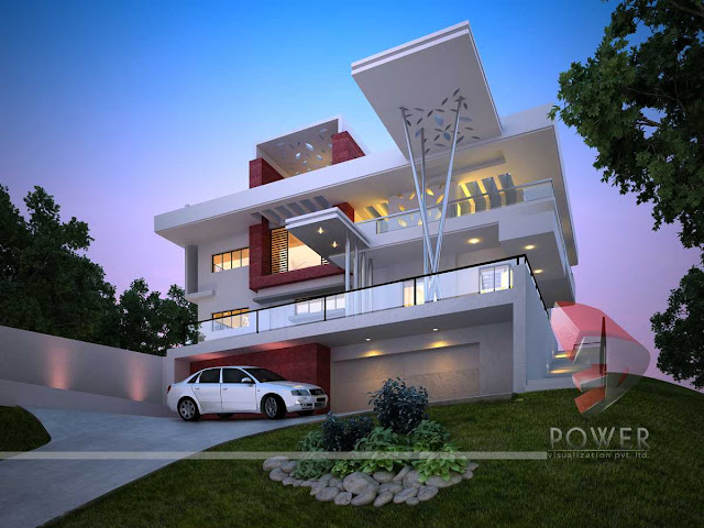 architectural 3d visualization,3d House Design
