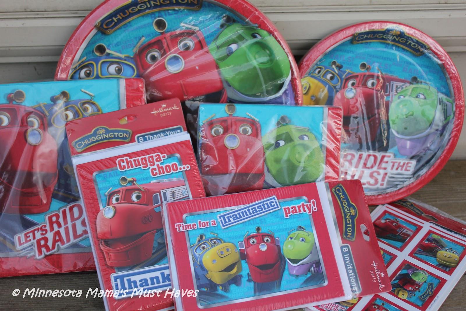 Chuggington Birthday Party Supplies Hallmark Party Supply Review – Chuggington Party Invitations