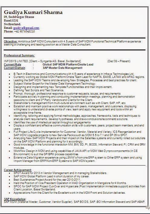 design of resume