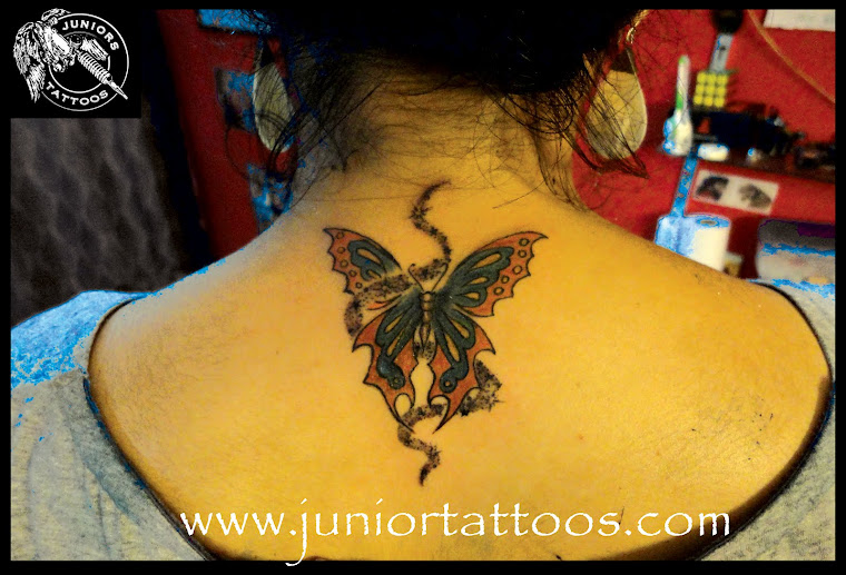 Color Butterfly tattoo