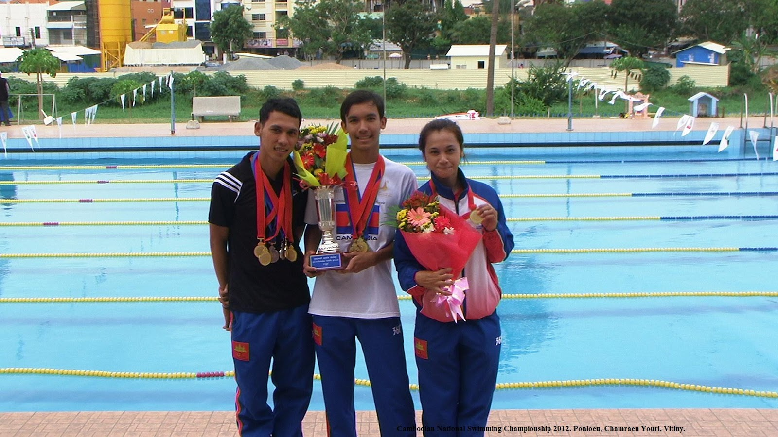 Aquatics Cambodia: Cambodian National Swim Team Goes to ...