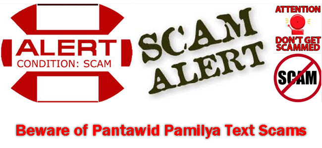 Beware of 4Ps or Pantawid Pamilya Text Scams Says DSWD