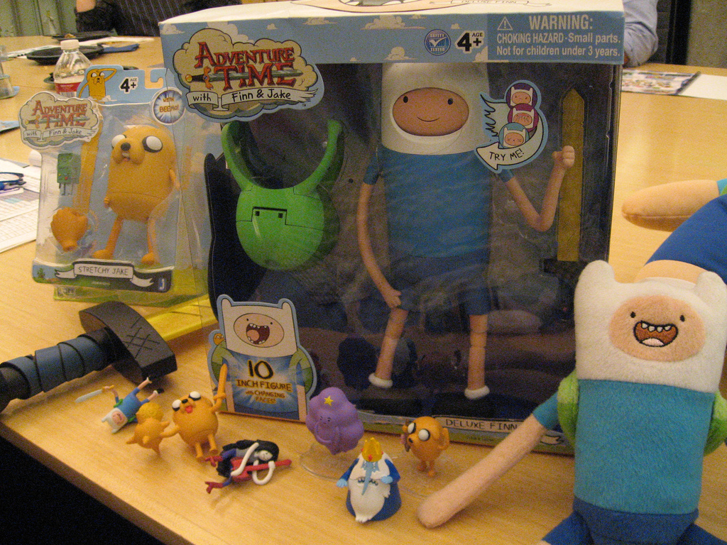 Toys And Adventures : Things to do in los angeles adventure time toys don t