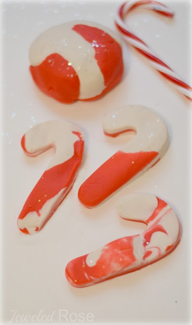 Candy Cane Clay Recipe