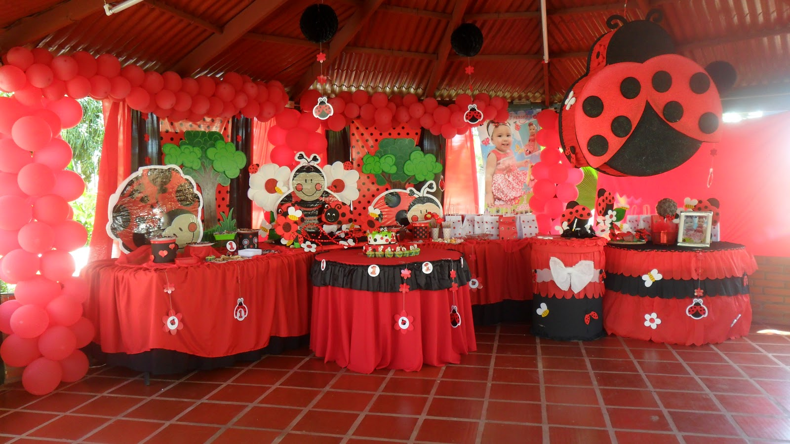 Ursula newman eventos decoraci n fiesta infantil ladybug for Cosas de decoracion