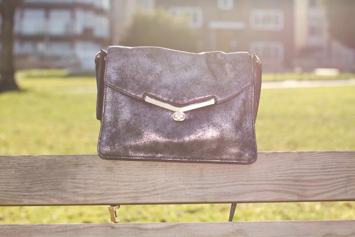 Botkier Silver Valentina Bag