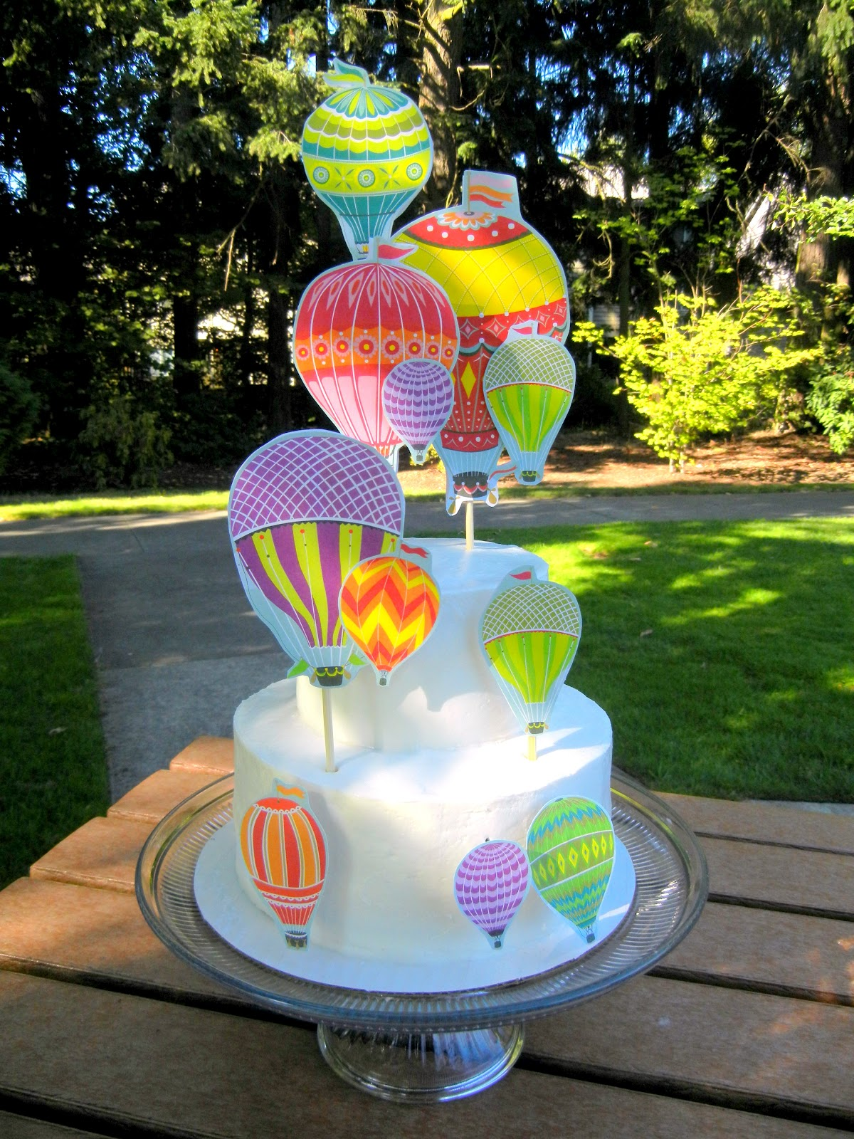 Ps Hot Air Balloon Cake How To Ladybird Fellow