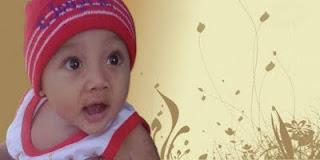 Foto Bayi Ucapan 7 Bulanan Kelahiran Bayi