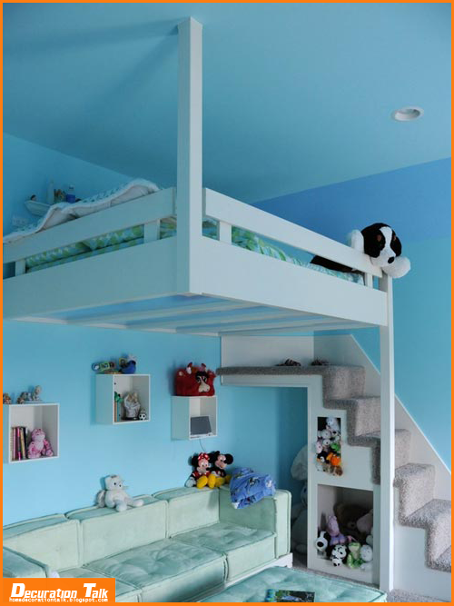 Best decoration ideas for kids room home decoration ideas for Suspended beds for kids
