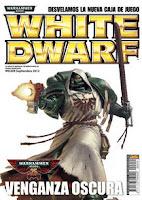 Portada de la revista White Dwarf 209 de Septiembre