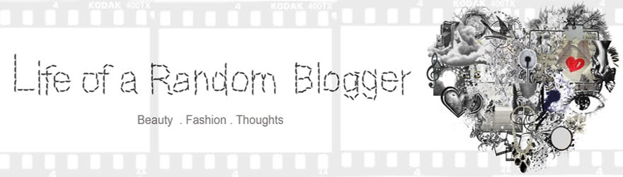 Life of a Random Blogger