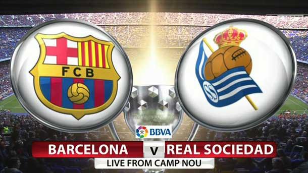 Hasil gambar untuk barcelona vs real sociedad