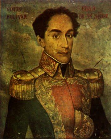 Retrato de Simón Bolívar con 35 años