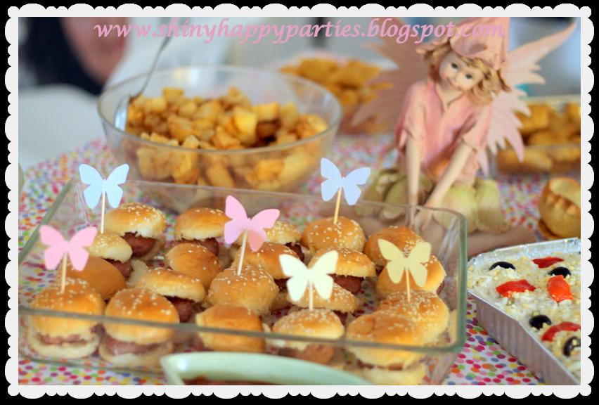Shiny happy parties mallorca fiesta de hadas para marina for Mesa salada para cumple