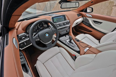 2014 BMW 6 Series Gran Coupe Sedan Interior
