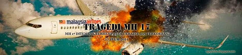 Tragedi MH 17-Ucapan takziah untuk semua waris yang terlibat