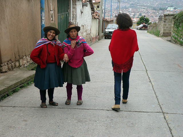 Cusco Peru Cholitas