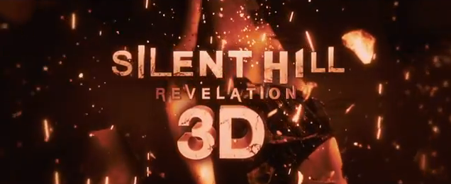 Silent Hill Revelation 3D 2012 horror movie title written and directed by Michael Bassett from Open Road Films and Lionsgate