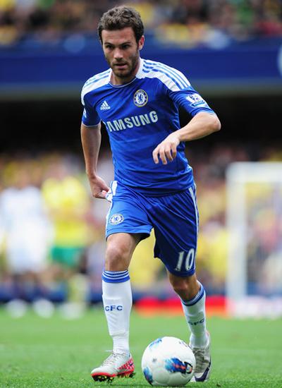 Juan Mata 2011-2012