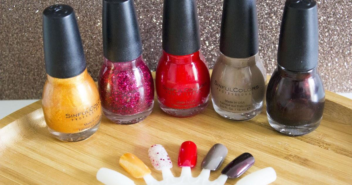 les vernis sinful colors toujours aussi bien la vie en lucie blog beaut mode paris - Vernis Sinful Colors