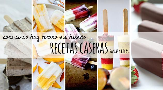 Popsicles recipes - receta helados homepersonalshopper