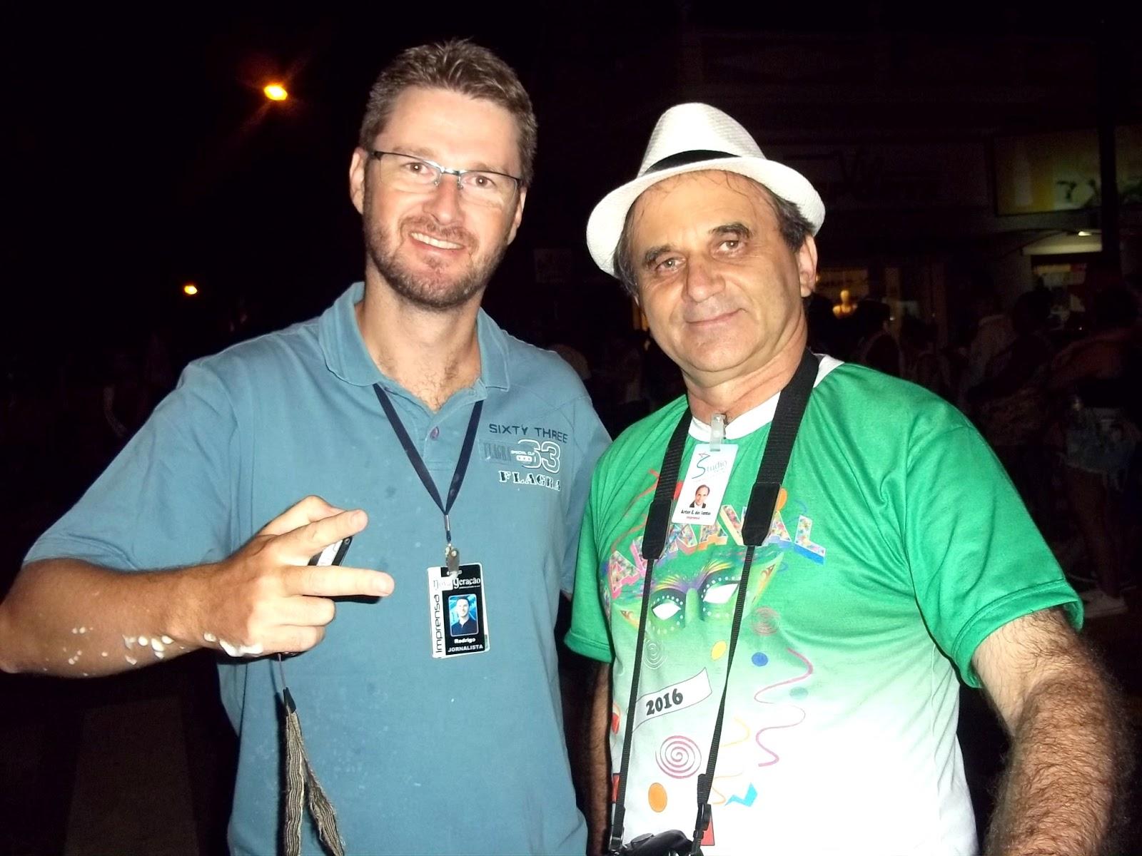 Rodrigo Angeli Dido e Airton Engster dos Santos