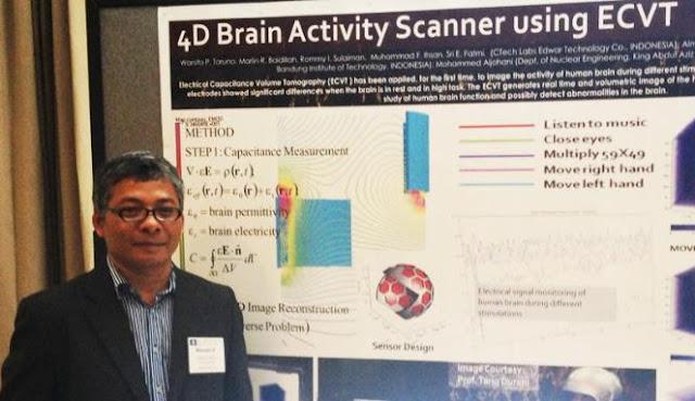 Ilmuwan Indonesia Perkenalkan Alat Pemindai Otak 4 Dimensi