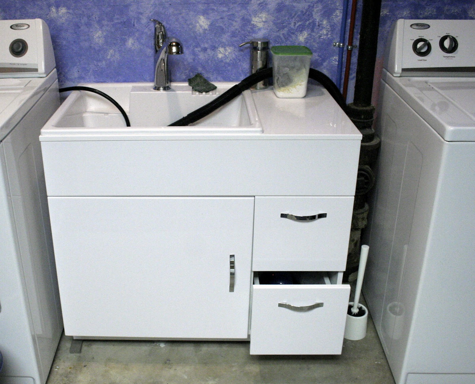 Laundry Wash Tub : three fates and j grow up laundry room take 2 laundry room take 2