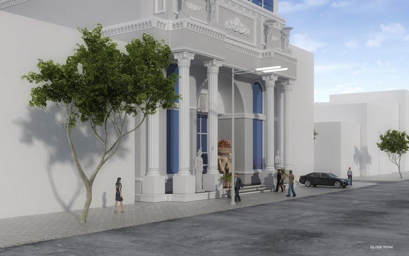 modern khmer architecture modern vs european classic