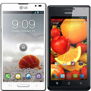 Comparison: Huawei Ascend P1 vs LG Optimus L9 | Manual User Guide