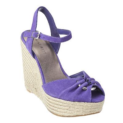 nine west, summer wedges, summer sandals