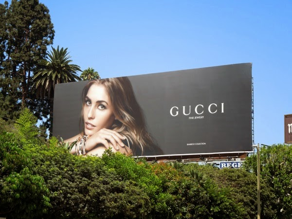 Gucci Fine Jewelry Bamboo Collection billboard