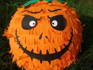 Piniata na Halloween