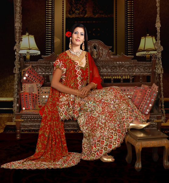 Indian Bridal Dresses 2011