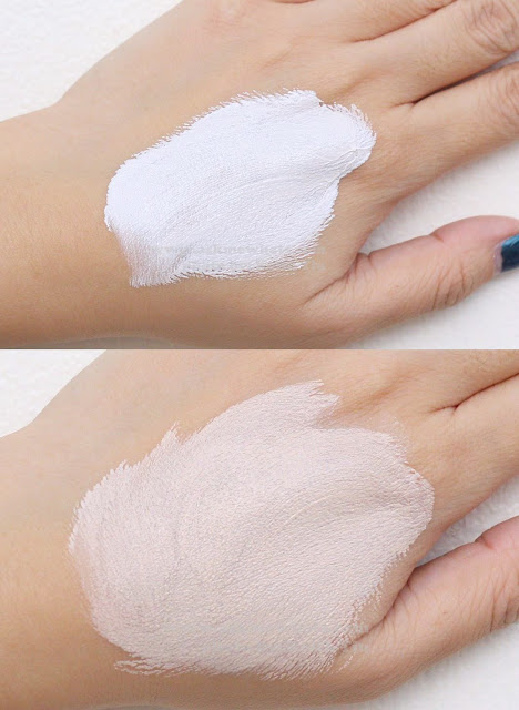 A photo of Etude House Correct & Care CC Cream Silky  swatch