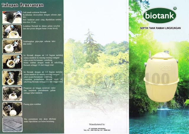 brosur septic tank biotank, katalog, induro, biofil, biocomb, biotech