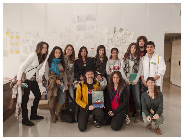 Presentación cómic Malaspina en Semana de la Ciencia ICM Barcelona