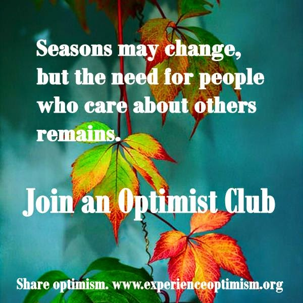share optimism. www.experienceoptimism.org