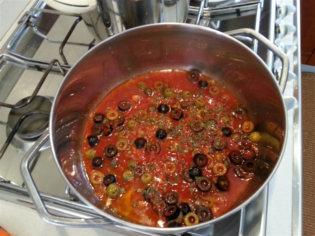 sugo con le olive