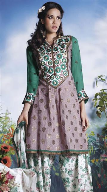 Designer Embroidery Salwar Kameez