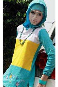 UKHTI Teens UT20 - Biru Muda (Toko Jilbab dan Busana Muslimah Terbaru)