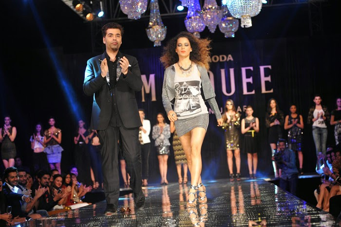 Kangana Ranaut Ramp Walk at Vero Moda Marquee Collection Launch Event